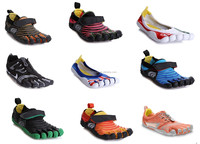 2014 hot selling huiwang factory direct wholesale newest men brand name sport shoes popular five finger mens shoes