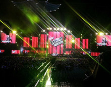 High Definition P3.9/P4.8/P5.9/p6.25/p6.944 Stage Music Rental Use Concert LED Screen