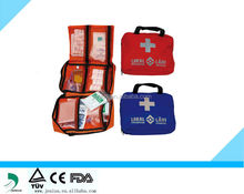 Emergency Family Travel Sports First Aid bag, FDA/CE First Aid Kit