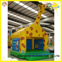 Customized beautiful inflatable bouncy castle bouncer and jumper for kids