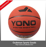 2015 Durable indoor 8 panels high school 7# pu material basketball in bulk