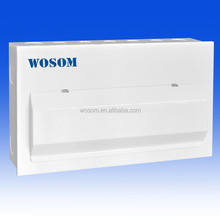 metal consumer unit / distribution box 18 modules 12 way