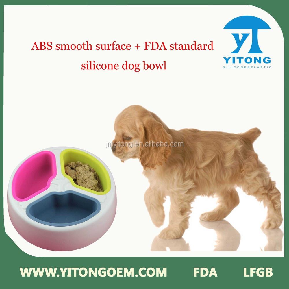 2015hot sale Foldable Silicone Travel Dog Bowls