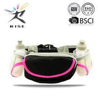 Lightweight Soft Hydration Belt for Running Fits Most Waist Sizes