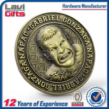 2015 popular custom cheap novelty coin craft