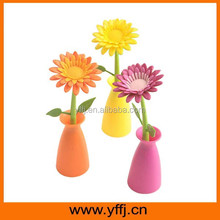 Sun flower ball point pen decorate your table and room
