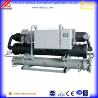 R410 Industrial glycol chiller / Screw type chiller