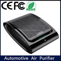 Ozonic and Ionic Car Air Purifier Solar Power Keep Car Air Clean