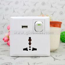 USB charging universal multi socket wall Socket