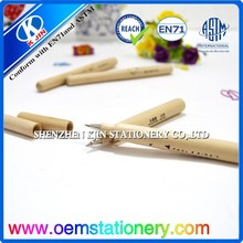 New style natural wood hammer shape ball pen with customized logo printing for promotion/New design nature wooden ball pen