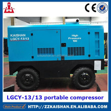 China Supplier With Name Brand Portable Diesel Air Compressor For Blasthole Drilling Rig
