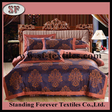 latest high grade comfortale soft embroidery crochet bed sheet