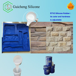 concrete paver plaster stones molds, rtv silicone rubber for gypsum/concrete molding
