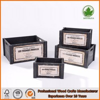Alibaba China Unfinished Wooden Boxes To Decorate