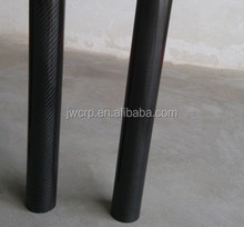 22mm OD 3k carbon fiber tube with twill weave glossy finish