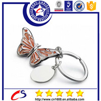 New product wholesale custom metal keyring