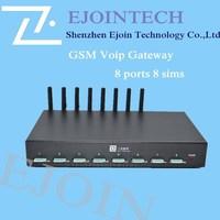 Ejointech 8 ports 8 sims goip gateway Caller ID Hidden