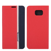 New Fashion Full Protective Durable Cloth Fabric Phone Card Holder Leather Flip Case For Samsung Galaxy Note 5