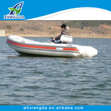 2014 new style fishing inflatable motor rib boat