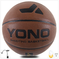 YONO brand top PU hygroscopic leather material, match basektball custom design