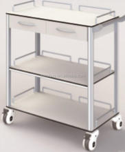 Factory new arrival hospital linen carts dressing trolley