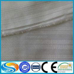 100% cotton bleached satin stripe bedding fabrics cotton hotel bedding fabric