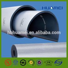 Aluminium Foil-clad Rubber foam heat insulation sheet