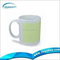 white blank ceramic mug colorful mug sublimation mug magic sublimation