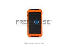 OEM portable external emergency mini usb solar mobile power pack