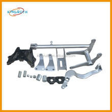 Made in china silver frame motorcycle fit for motorcycle dirt bike YZF250 frame