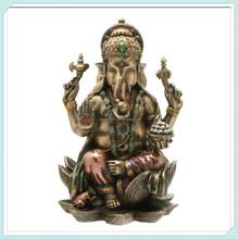 Hindu elephant god of success resin ganesh idols