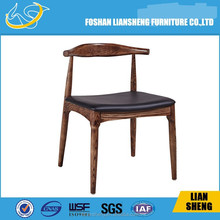 A03wood chairs for restaurants,dark wood restaurant chairs,modern restaurant chair