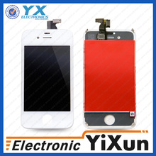 Fast delivery wholesale for apple iphons 4s, colorful lcd with digitizer for iphone 4s