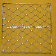 stainless steel wire rope mesh net perfect quality and lowest price