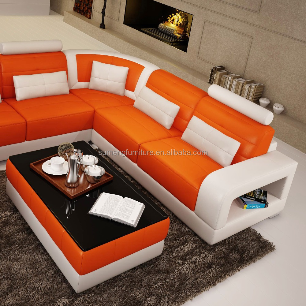 On sale modern leather sofa set for living room for Modern sofas for sale