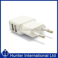 CE Approval Two Pins Dual Port USB Power Supply