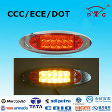 New 2015 hot cool bus coaches 24 volt led turn lamp