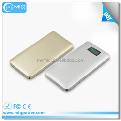 MIQ LCD indicator power bank 9000MAH most popular charger for cell phone