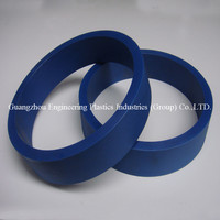 Manufacture ODM & OEM injected/machined pa66 nylon small plastic ring