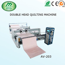 Maps new fashion of quilt machine, AV-203 Double head quilting machine, mattress machine