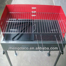 adjustable height japanese style large bbq grill