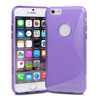 Shockproof S-line TPU case back phone cover for iphone 6s plus