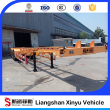 40ft container tractor truck trailer chassis