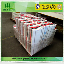 BLY B-26 waterproof paper cup paper in china making single coated fan cup