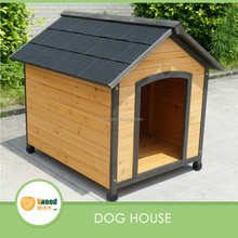 Black roof Pet house Wooden Kennel
