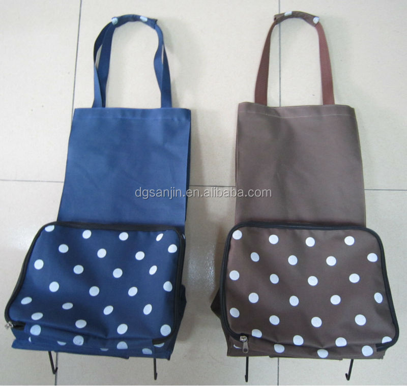 Professional Factory Supply Polyester Foldable Shopping Bag