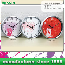 8inch wall clock wedding decoration / wedding gift / wedding souvenirs