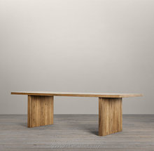Solid Wood Plank Furniture Slab Classic Dining Table