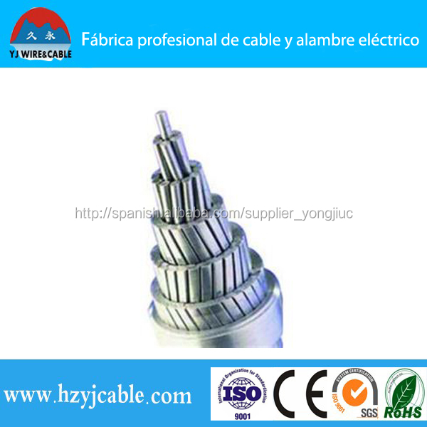 high voltage cable and wire for electrical project distribution overhead bare wire acsr aaac aac abc
