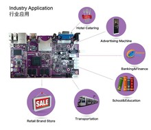 High quality comprehsive dual operating system a20 arm board for digital out of home